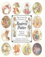 The Great Big Treasury of Beatrix Potter with Her Original Illustrations - Beatrix Potter