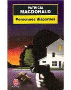 Personnes disparues - Patricia MacDonald