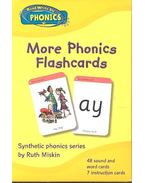 More Phonics Flashcards - MISKIN, RUTH