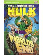 The Incredible Hulk - World's End - Lee, Stan