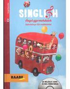 Singlish - Angol gyermekdalok (könyv + CD) - SZANISZLÓ, SZILVIA - KIRSCH, CHRISTOPH