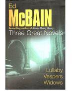 Lullaby; Vespers; Widows - Ed McBain