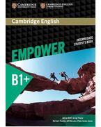 Cambridge English Empower Intermediate Student's Book - DOFF, ADRIAN - THAINE, CRAIG - PUCHTA, HERBERT - STRANKS, JEFF - LEWIS-JONES, PETER -