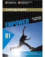 Cambridge English Empower Pre-intermediate Student's Book - DOFF, ADRIAN - THAINE, CRAIG - PUCHTA, HERBERT - STRANKS, JEFF - LEWIS-JONES, PETER -