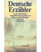 Deutsche Erzähler 1-2 - HOFMANNSTHAL, KASCHNITZ