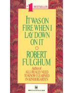 It was on Fire When I Lay Down on It - Fulghum, Robert