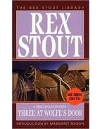 Three at Wolfe's Door - Stout, Rex