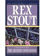 The Second Confession - Stout, Rex