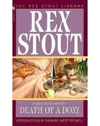 Death of a Doxy - Stout, Rex