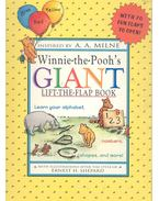 Winnie-the-Pooh's Giant Lift-The-Flap Book - MILNE, A. A. (INSPIRED) - SHEPARD, ERNEST H. (ILLUSTRATOR)