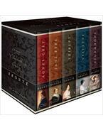 Agnes Grey; Jane Eyre; Villette; Shirley; Sturmhöhe - BRONTË, CHARLOTTE - BRONTË, ANNE - BRONTË, EMILY