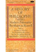 A History of Philosophy - Modern Philosophy - Copleston, Frederick