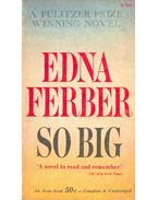 So Big - Ferber, Edna