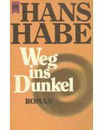 Weg ins Dunkel - Habe, Hans