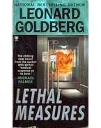 Lethal Measures - Goldberg, Leonard