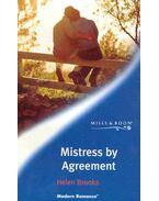 Mistress by Agreement - Brooks, Helen