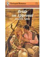 Bride on Approval - Ashton, Elizabeth