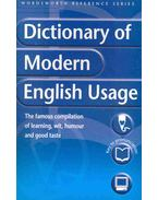 Dictionary of Modern English Usage - H. W. Fowler