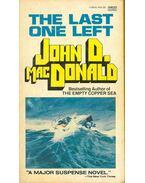 The Last One Left - John D. MacDonald