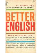 Better English - Lewis, Norman