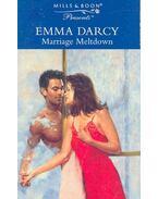 Marriage Meltdown - Darcy, Emma
