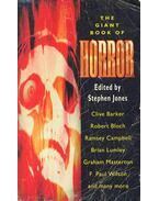 The Giant Book of Horror - JONES, STEPHEN