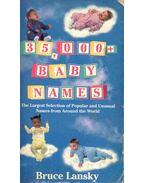35000 Baby Names - Lansky, Bruce