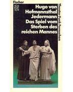 Jedermann  - Das Spiel vom Sterben des reichen Mannes - Hofmannsthal, Hugo von