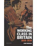The Working Class in Britain 1850-1939 - BENSON, JOHN