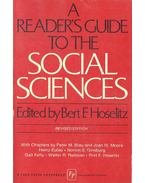 A Reader's Guide to the Social Sciences - HOSELITZ, BERT F. (editor)