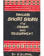 Panjabi Short Stories Its Origin and Development - SUPPAL, S.S. (editor)