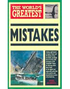 The World's Greatest Mistakes - Blundell, Nigel