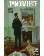 L'immoraliste - Gide, André