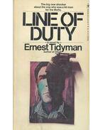 Line of Duty - TIDYMAN, ERNEST