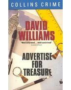 Advertise for Treasure - Williams, David