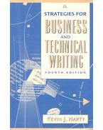 Strategies for Business and Technical Writing - HARTY, KEVIN J.