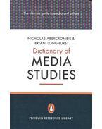 Dictionary of Media Studies - ABERCROMBIE, NICHOLAS – LONGHURST, BRIAN