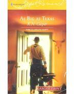 As Big as Texas - CASPER, K.N.