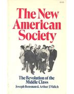 The New American Society – The Revolution of the Middle Class - BENSMAN, JOSEPH – VIDICH, ARTHUR J.