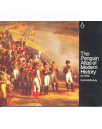 The Penguin Atlas off Modern History - McEVEDY, COLIN