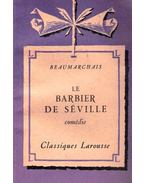 Le barbier de Séville - Caron de Beaumarchais