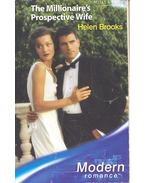 The Millionaire's Prospective Wife - Brooks, Helen
