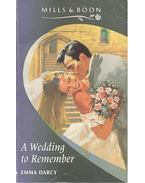 A Wedding to Remember - Darcy, Emma