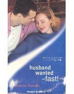 Husband Wanted – Fast ! - DANIELS, REBECCA