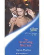The Deserving Mistress - Mortimer, Carole