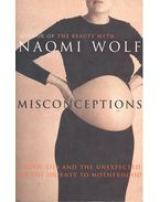 Misconceptions – Truth, Lies and the Unexpected on the Journey to Motherhood - Naomi Wolf
