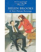 A Very Private Revenge - Brooks, Helen