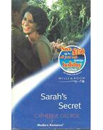 Sarah's Secret - George, Catherine
