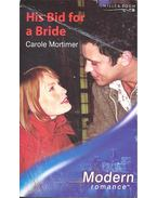 His Bid for a Bride - Mortimer, Carole