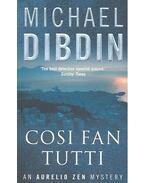 Cosi Fan Tutti - Dibdin, Michael